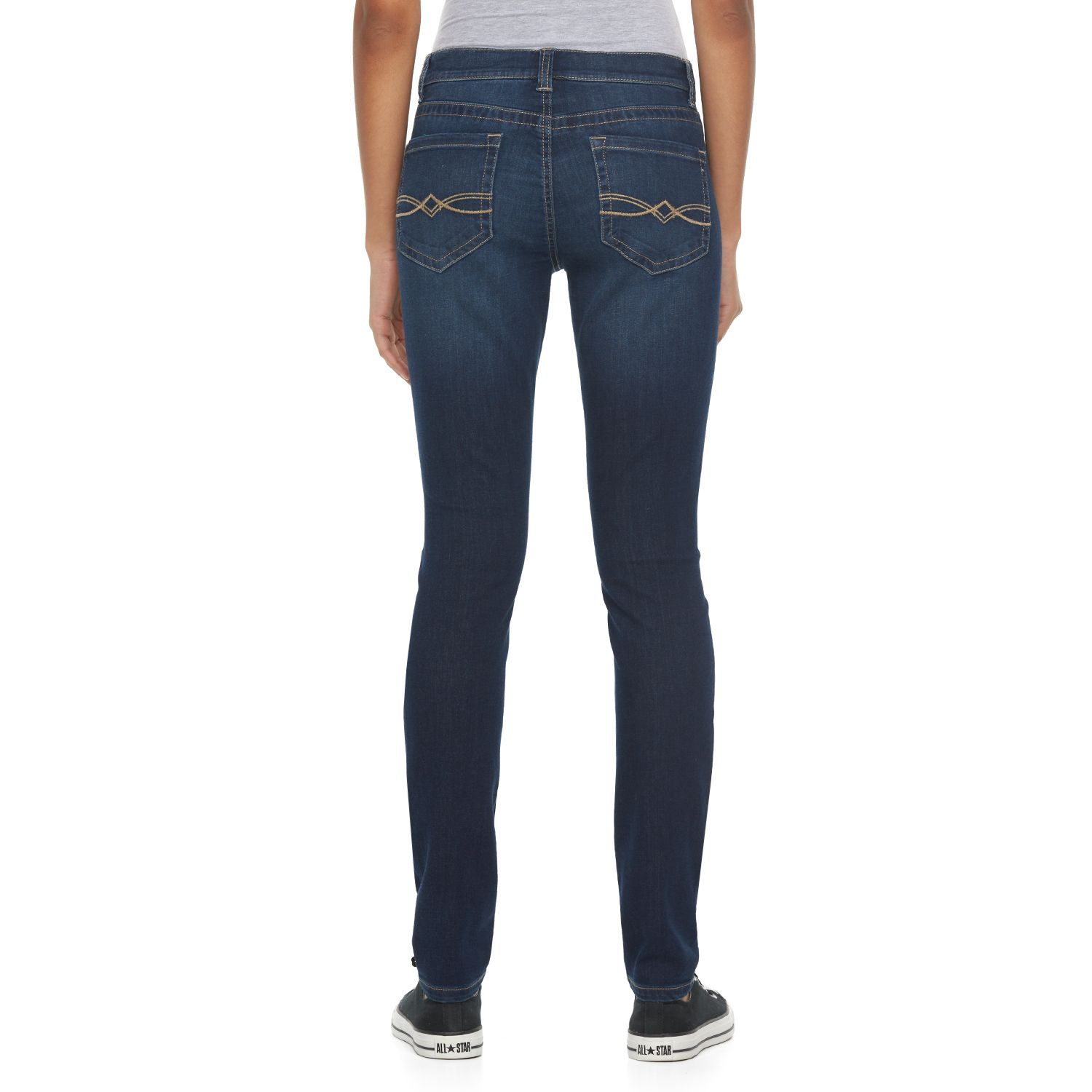 b5e63442071 Juniors Black Mudd Skinny Jeans - Bottoms