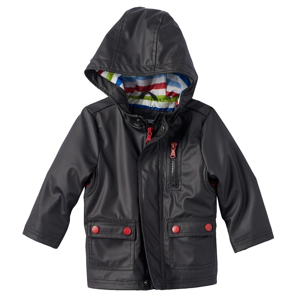 Toddler Boy Urban Republic Hooded Rain Jacket