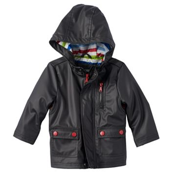 Toddler Boy Urban Republic Hooded Rain Jacket