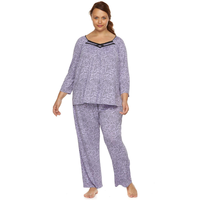 Plus Size Croft & Barrow? Pajamas: Over The Moon PJ Set