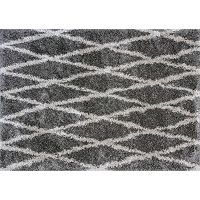 KAS Rugs Delano Visions Lattice Shag Rug - 3'3'' x 5'3''