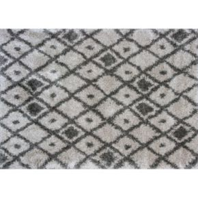 KAS Rugs Delano Elements Lattice Shag Rug - 3'3'' x 5'3''