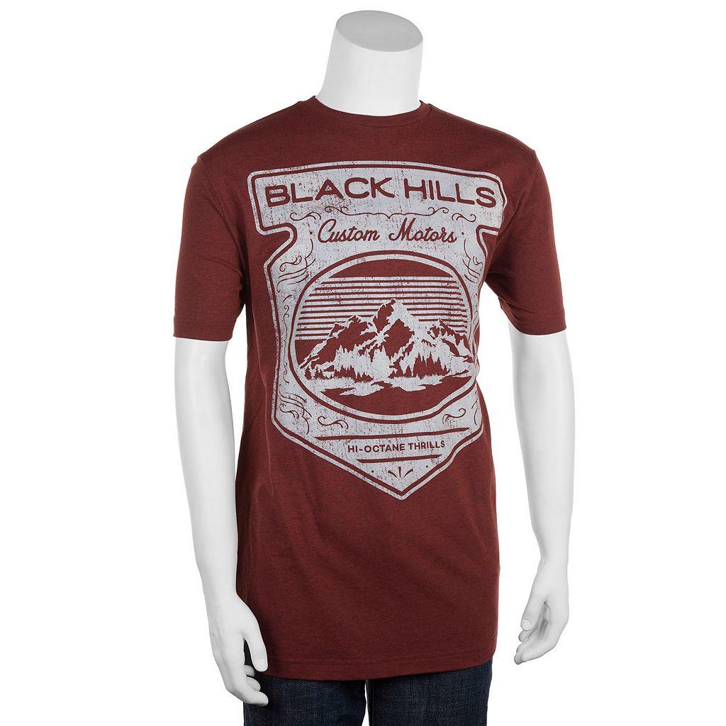 Big & Tall Helix™ Black Hills Custom Motors Tee