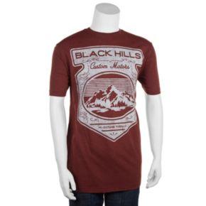 Big & Tall Helix? Black Hills Custom Motors Tee
