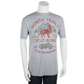 Big & Tall Helix™ North Trails Custom Motors Tee