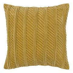 Rizzy Home Corded Throw Pillow