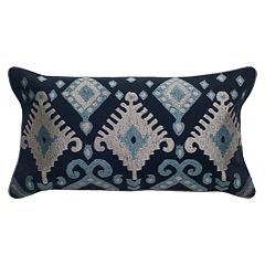 Rizzy Home Embroidered Southwest Throw Pillow