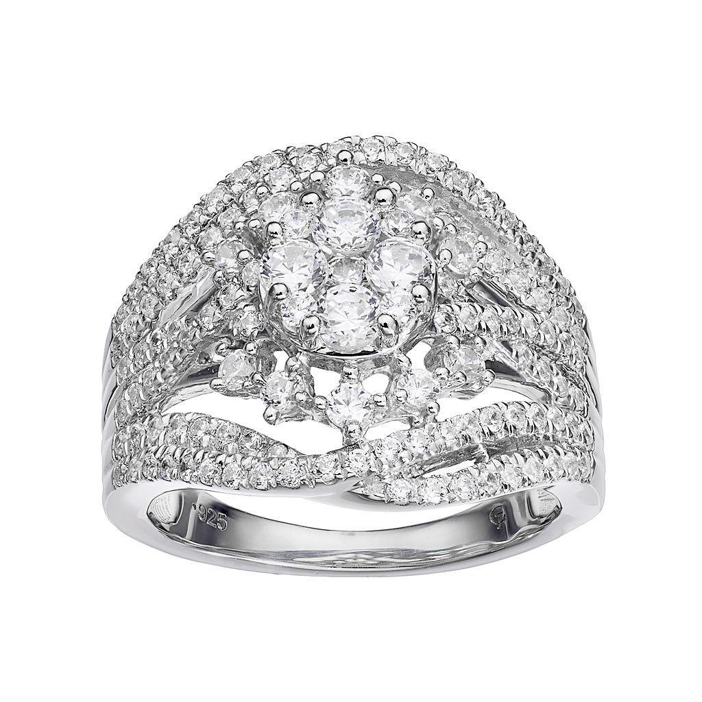 10k White Gold 1 1/2 Carat T.W. Diamond Ring