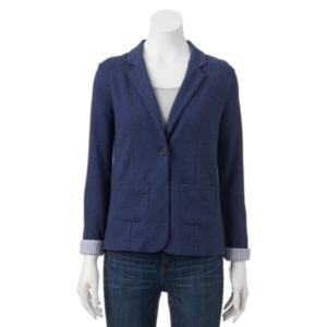 Juniors' SO® Knit Blazer