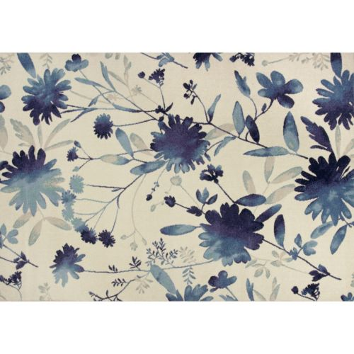 """KAS Rugs Reflections Watercolors Floral Rug – 2'7"""" x 4'11"""""""