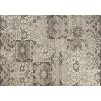 KAS Rugs Reflections Brocade Patchwork Rug - 2'7'' x 4'11''