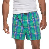 Men's Jockey 4-pack Active Blend Patterned Performance Woven Boxers