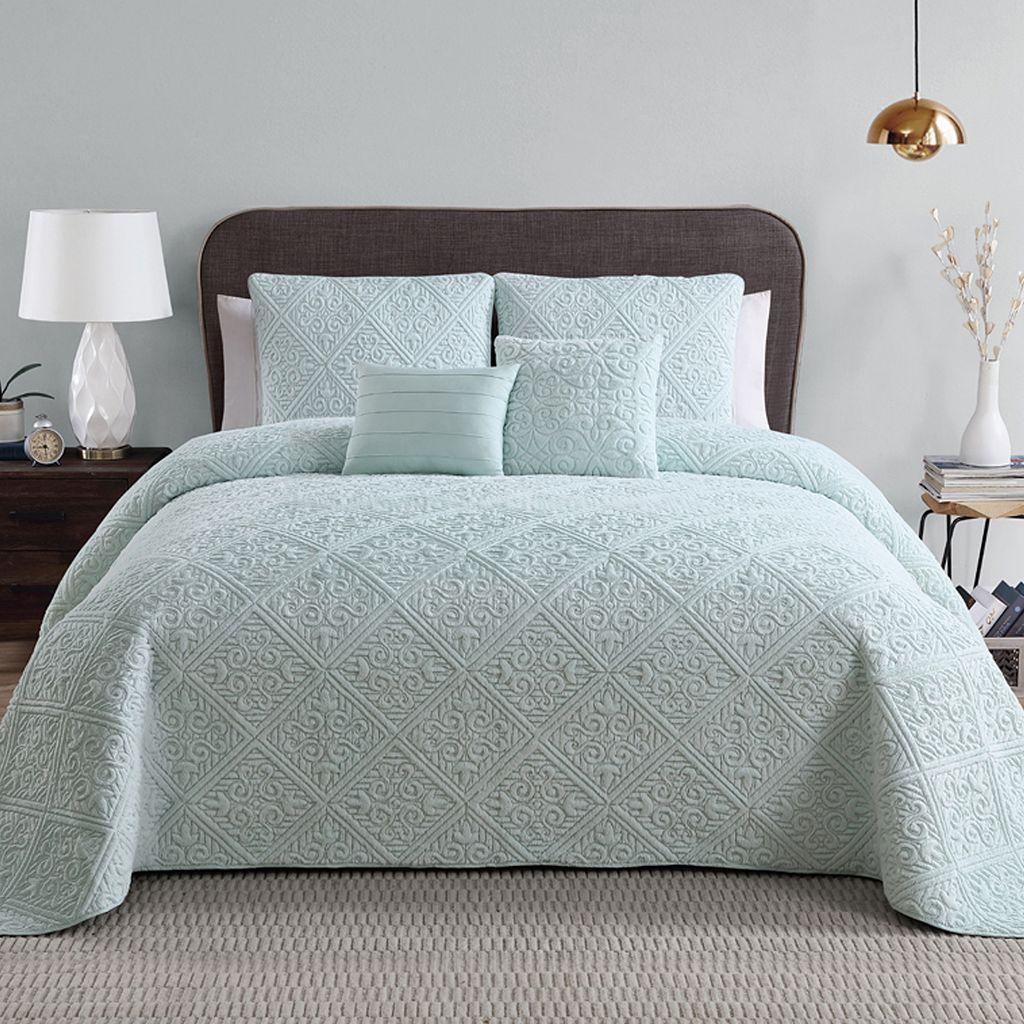 VCNY Westland 5-piece Bedspread Set