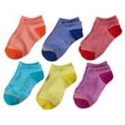 Girls 7-16 GOLDTOE 6-pk. Marled Liner Socks