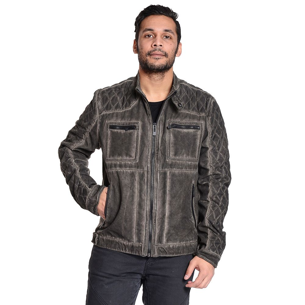 Excelled Quilted Moto Jacket : quilted moto jacket - Adamdwight.com