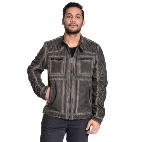 Men's Excelled Quilted Moto Ja...