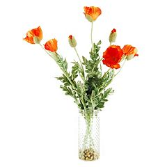 Designs by Lauren Artificial Poppy Arrangement