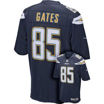 Men's Nike San DiegoChargers Antonio Gates Game NFL Replica Jersey