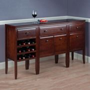 Winsome Orleans Modular Buffet Table 3 pc Set