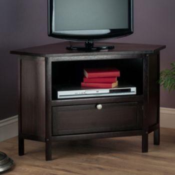 Winsome Zena Corner TV Stand