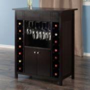 Winsome Yukon Wine Cabinet