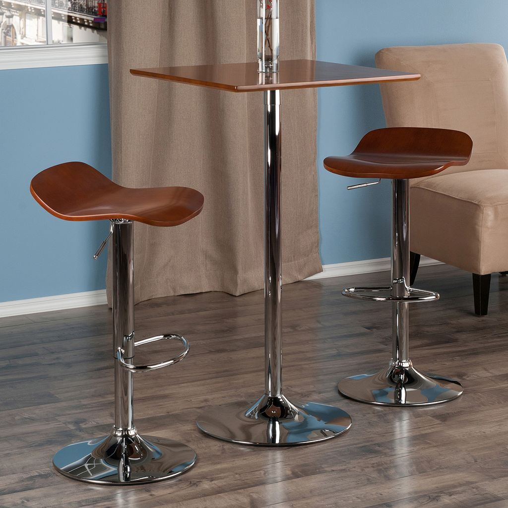 Winsome Kallie Pub Table & Bar Stool 3-piece Set