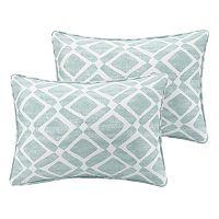 Madison Park Ella Geometric Oblong Throw Pillow 2 pc Set