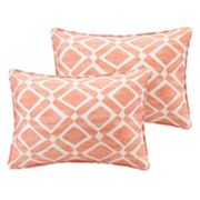 Madison Park Ella Geometric Oblong Throw Pillow 2 pc Set