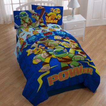 Teenage Mutant Ninja Turtles Half Shells Comforter