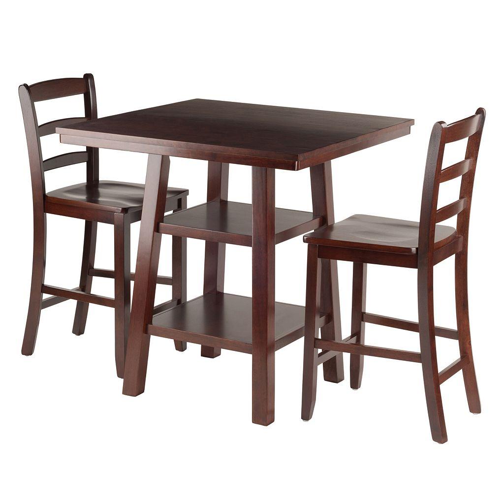 Winsome Orlando High Table 3-piece Set