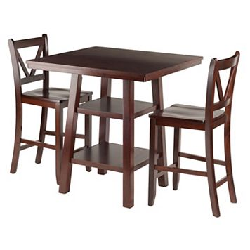Winsome Orlando High Table & Chair 3-piece Set
