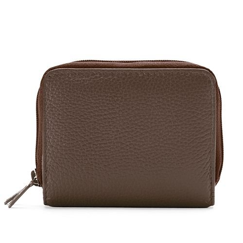 Buxton Hudson Pik-Me-Up Wizard Leather Wallet