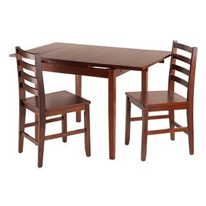 Winsome Pulman Extension Table & Chair 3-piece Set