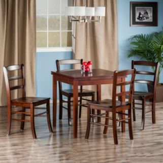 Winsome Pulman Extension Dining Table & Chair 5-piece Set