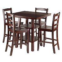 Winsome Orlando High Table & Chair 5 pc Set
