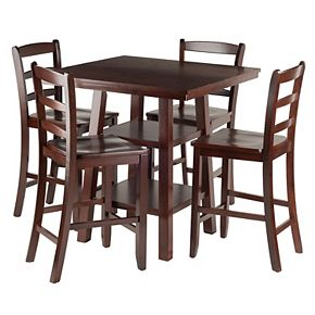 Winsome Orlando High Table & Chair 5-piece Set