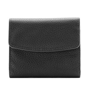 Buxton Hudson Pik-Me-Up Mini Trifold Leather Wallet