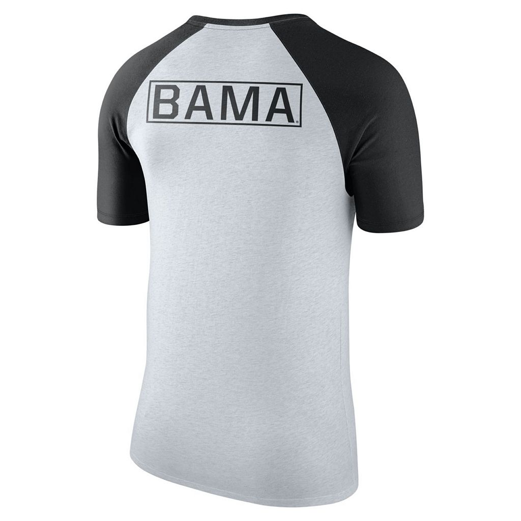 Men's Nike Alabama Crimson Tide Raglan Tee