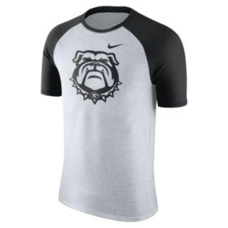 Men's Nike Georgia Bulldogs Raglan Tee