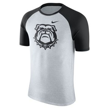 Men's Nike Georgia Bulldogs Raglan Tee