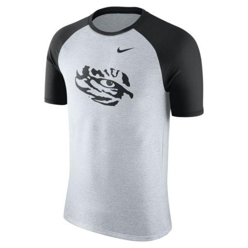 Men's Nike LSU Tigers Raglan Tee