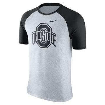 Men's Nike Ohio State Buckeyes Raglan Tee