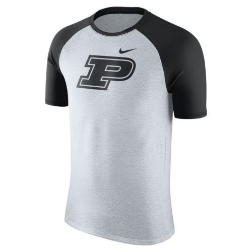 Men's Nike Purdue Boilermakers Raglan Tee