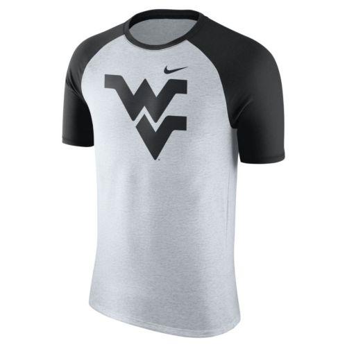 Men's Nike West Virginia Mountaineers Raglan Tee