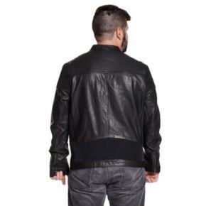 Men's Excelled Vintage Leather Moto Jacket