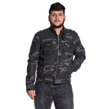 Men's Excelled Camouflage Moto Jacket