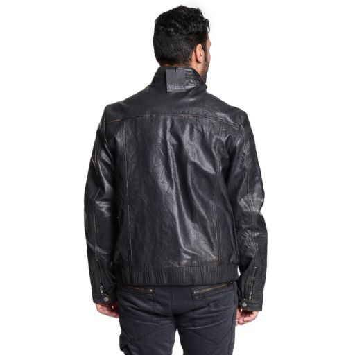 Men's Excelled Leather Military Jacket
