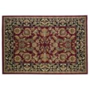 KAS Rugs Cambridge Kashan Framed Floral Rug