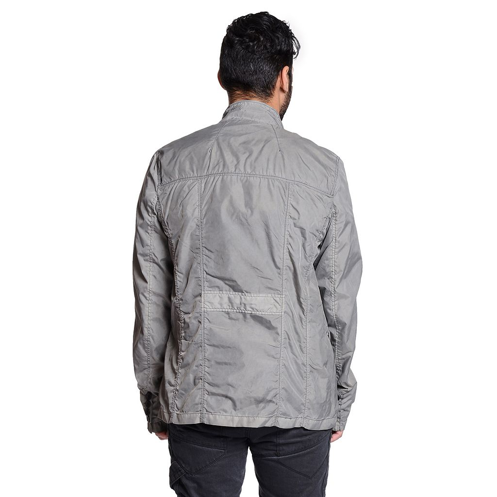 Men's Excelled Military Button-Up Jacket