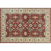 KAS Rugs Shiraz Mahal Framed Floral Rug